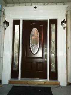 New Home Depot Fiberglass Entry Doors with Sidelights