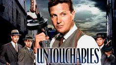 """""""The Untouchables""""; prachtige serie......de ènige èchte met Robert Stack als Eliot Ness! Begin zestiger jaren. Robert stierf in 2003."""
