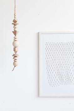 Cool geometrisk ophæng - DIY