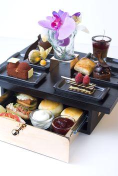 High Tea Now Served At The Lobby Lounge At The Shangri-La Hotel, Bangkok