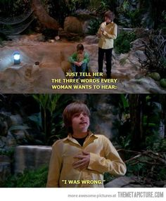The 3 words every woman wants to hear The Suite Life of Zach and Cody