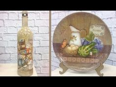 Decoupage - Pintura - Craquelê com Rose Rodrigues - YouTube