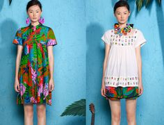 Suno's Resort collection sends my mind straight to the the gulf of Thailand...