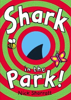 Chapel Hill Snippets: There's a Shark in the Park! Companion Pack to a great book teaching joint attention, part/whole, and 'all abouts'