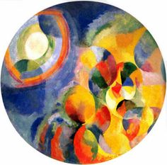 Simultaneous Contrasts: Sun & Moon, 1913 Robert Delaunay