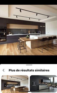 Kitchen Island Bench, Cuisines Design, Design Moderne, Kitchens, Alice, Table, House, Inspiration, Furniture