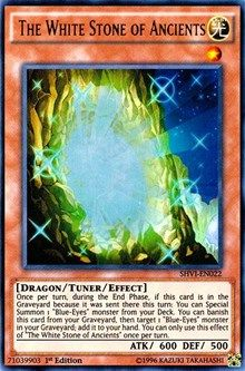 The White Stone of Ancients, YuGiOh, Shining Victories