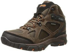 Nevados Men's Spire Waterproof Hiking Boot, Dark Brown/Orange/Black, 10 M US *** Be sure to check out this awesome product affiliate link Amazon.com