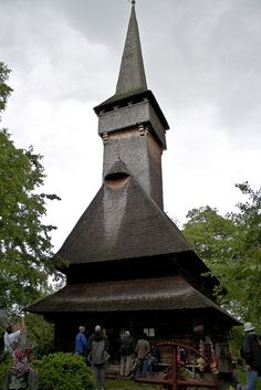 The UNESCO-listed wooden church in Desesti is one of the best preserved in the… Architecture Old, Place Of Worship, Come And See, Kirchen, North West, Places To Visit, Castle, Europe, Iglesias