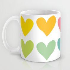 Hearts Mug by hello olive | Society6