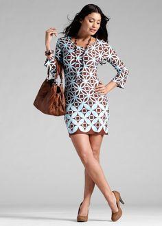 Трикотажное платье, BODYFLIRT