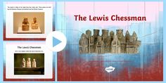 The Lewis Chessmen Information PowerPoint - Use this powerpoint to find out about and study closely the fascinating Lewis Chessmen; each piece different and intricately carved. Inspire your pupils to create their own in 3D e.g. using clay or draw and print their own chess piece design. Perhaps they could also write the story of one of the chess pieces!
