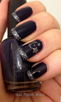Starry nails!!