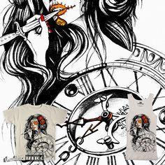 dama de la muerte on Threadless