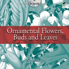 Drawn from a rare 19th-century French source, this compilation features flowers, plants, buds, and leaves in stylized natural forms as well as in decorative arrangements. The green-and-white images are included on the accompanying CD-ROM.