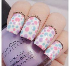 Cute pastel spots