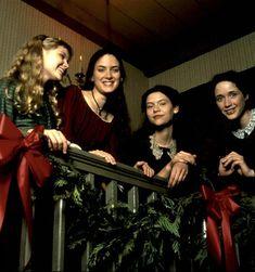 """Little Women"" (1994). The March sisters: Amy(Kirsten Dunst), Jo(Winona Ryder), Beth(Claire Danes) and Meg(Trini Alvarado)."