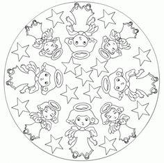 1000+ images about Mandalas enfants on Pinterest   Mandalas, Mandala ...