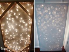 elmers-look-for-less-lit-canvas-icicle-lights by Ashlee @ imtopsyturvy, via Flickr