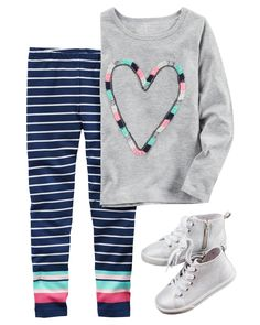 Appear like a superstar for any time with our young one & Baby boy leggings, remarkable models, looks or colors. Baby Outfits, Outfits Niños, Little Girl Outfits, Little Girl Fashion, Kids Outfits, Toddler Girl Style, Toddler Girl Outfits, Toddler Dress, Toddler Fashion