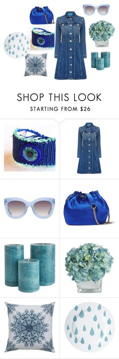 Welcome Autumn by mariellascode on Polyvore featuring M.i.h Jeans, Diane Von Furstenberg, Alice + Olivia, Donna Wilson, Rizzy Home, etsy, Home and handmadejewelry