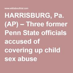 HARRISBURG, Pa. (AP) – Three former Penn State officials accused of covering up child sex abuse allegations against Jerry Sandusky are expected to argue in court this week that their right to legal representation was violated when they appeared before an investigative grand jury more than two years ago. The pretrial hearing, which starts Tuesday before Dauphin County Judge Todd Hoover in Harrisburg, will address claims by the three that their charges should be dismissed as a result…
