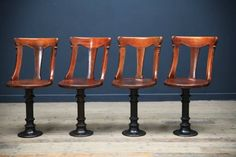 Unusual revolving library chairs, from DC member Drew Pritchard