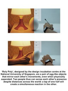 I don't know if I believe this or not but if it works that's pretty cool. For long distance relationships.