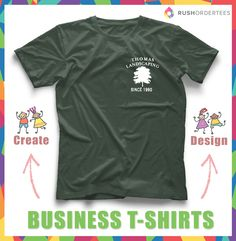 Landscaping Business Tshirt Idea Fun Ideas For Your Customshirts