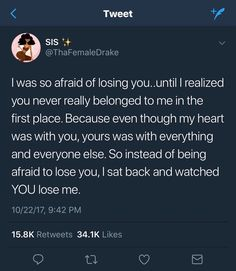 This describes my entire story with you. Real Talk Quotes, Fact Quotes, Mood Quotes, Life Quotes, Real Shit Quotes, Quotes To Live By, Twitter Quotes, Tweet Quotes, Losing Interest Quotes