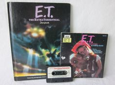 Vintage E.T. The Extra Terrestrial Books
