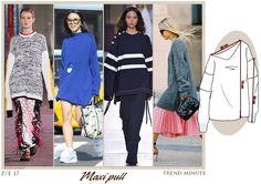 Il maglione oversize è spesso sfrangiato nei fondi, bucato e dal sapore maschile. Maggiori dettagli su www.fashionforbreakfast.it