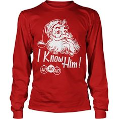 I love these vintage Santa t-shirts. They have a nice vintage style to them which reminds me of my childhood when Christmas was magical and times were simpler. Some of these Santa tees come in other styles including long sleeve unisex (as shown) as well as v-neck, hoodies, sweatshirts and more. There are even some Santa Claus is Comin' to Town t-shirts in a fun, vintage Christmas style. What fun shirts to wear around the holidays!