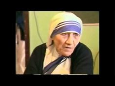 Mother Theresa Speaking