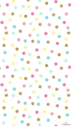 Mint pink gold confetti spots dots iphone wallpaper phone background lock s Pink Polka Dots Wallpaper, Pink And Gold Wallpaper, Confetti Wallpaper, Cute Backgrounds, Phone Backgrounds, Wallpaper Backgrounds, Iphone Wallpaper, Wallpapers, Iphone 8