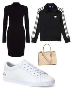 """""""/"""" by beatriceorholm ❤ liked on Polyvore featuring Phase Eight, Lacoste, adidas and Michael Kors"""