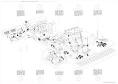 AA School of Architecture 2015 - Erez Levinberg Timeline Architecture, Architecture Concept Diagram, Architecture Presentation Board, Architecture Drawings, Architecture Portfolio, Concept Architecture, Timeline Diagram, Timeline Design, Time Diagram