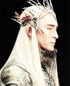 Lee Pace stunning as Thranduil (bts) Perfect World, Perfect Man, Elf King, Legolas And Thranduil, Forest Elf, O Hobbit, King Of My Heart, Fanart, Elvish