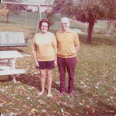 Harold Bruner and daughter Bernie Bruner, Gilpin Twp., PA