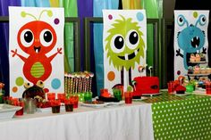 Little Monster Bash Birthday Party Ideas | Photo 19 of 33 | Catch My Party