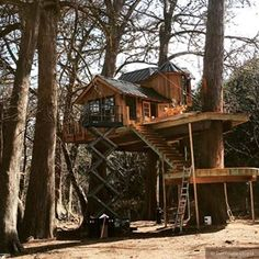 Feeling indulgent Our Chateau will be just for you  We are almost finished with this two story masterpiecechateaulife treehouseutopia nelsontreehouse beinatree frenchstyle treehousehotel romance loveisintheair