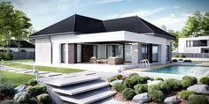 DOM.PL™ - Projekt domu CPT Koncept 32 - DOM CP1-37 - gotowy projekt domu