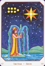 The Star - Babylonian Tarot - Sandra Cicero Llewellyn 2005