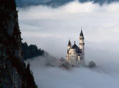 Альпы. Замок Нойшванштайн