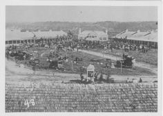 The 1st Minnesota State Fair held at Fort Snelling 1860