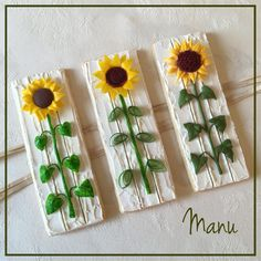 Playing with Sunflowers in February  | Manu