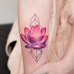 Best Best Tattoos Ideas : Lotus Flower Tattoo Artist: Joice Wang (@joicewangtattoos)
