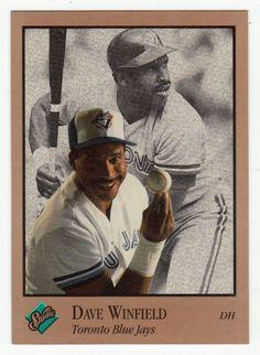 Dave Winfield # 260 - 1992 Leaf Studio Baseball