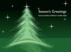 Christmas Tree Illustration Personalised cards since 1906 - Trusted UK Supplier - Order now. Corporate Christmas Cards, Personalised Christmas Cards, Tree Illustration, Contemporary Design, Modern Design, Christmas Tree Decorations, Glow, Greeting Cards, Seasons