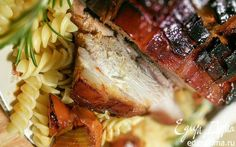 Запечённая свинина с карамелизированной корочкой  | Кулинарные рецепты от «Едим дома!»